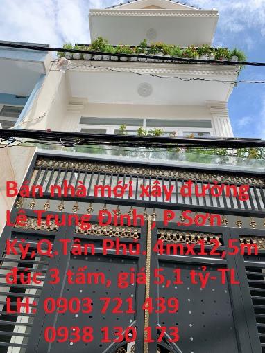 Bán nhà HXH Đường Lê Trung Đình, Phường Sơn Kỳ, Quận Tân Phú