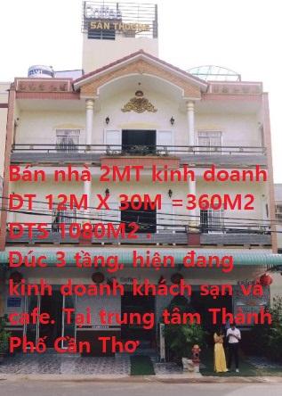 Chính chủ bán khu nhà - đất vàng 2 mặt tiền đường Trần Bạch Đằng + ĐS 30, P.An Khánh, Q.Ninh Kiều, TP.Cần Thơ